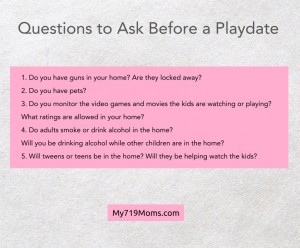 Playdate Questions