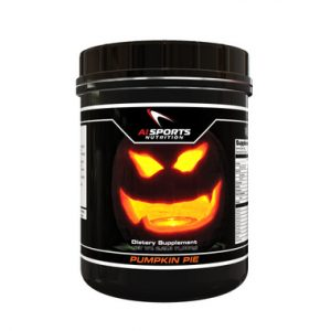 Pumpkin Pie Protein Powder is a vegan protein supplement that can be blended into a smoothie or stirred into breakfast oatmeal for a protein-packed punch of pumpkin flavor. (Photo from AI Sports Nutrition)